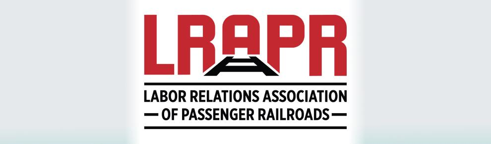Labor Relations Association of Passenger Railroads logo